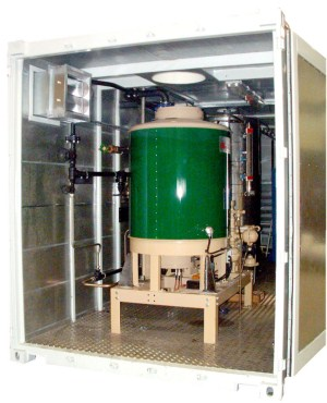 Weatherproof Steam Boiler Plant Rooms Containerised