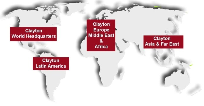 Clayton Worldwide Locations